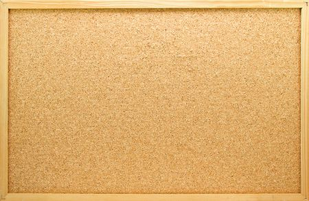 board pin: Empty memo board in closeup can be used for messages