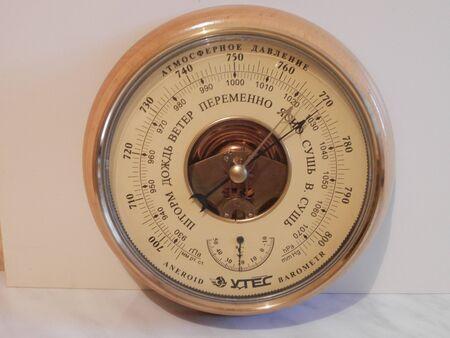 Barometer. Indoor appliance.