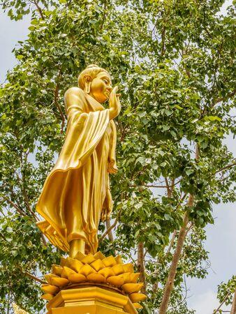 buddha statue: Ancient buddha  in temple Thailand