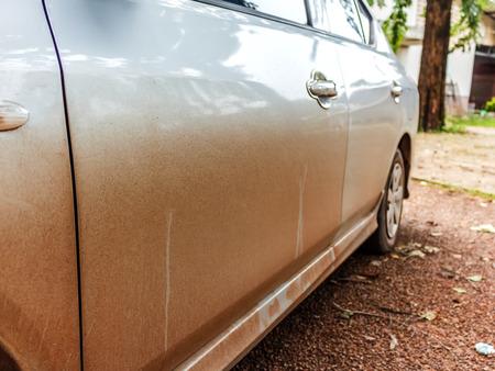 dirty car: Dirty car stock photo