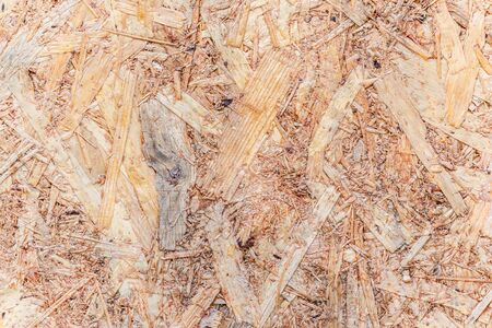 timbering: woodchips  compressed together Stock Photo