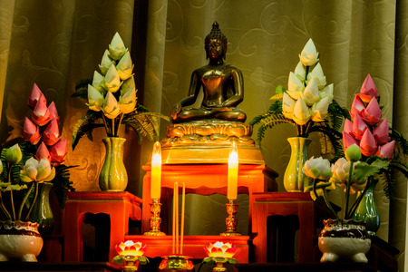 arrangement of offerings in Buddhisms faith