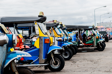 Tuk tuk taxi  Service in thailand and city around