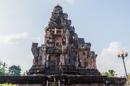Pha that narai cheng weang temple in sakonnakhon province thailand.