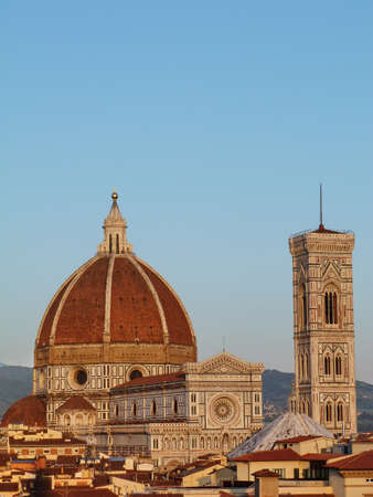 Florence, View of the Cathedral Stock Photo - 13369397