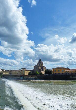 arno: L Arno a Firenze 02 Stock Photo