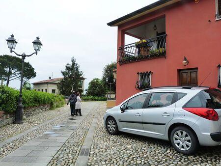 sarzana: Italy, Sarzana, view of a street 3