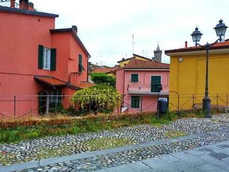 sarzana: Italy, Sarzana, view of a street 2