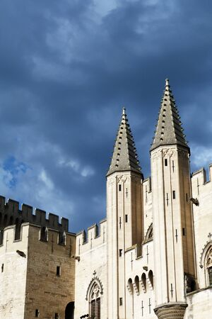 Palace of the Popes in Avignon, France Stock Photo - 15460841