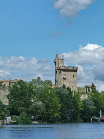 rhone: Tower on the banks of the Rhone