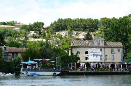 rhone: The Rhone at Avignon