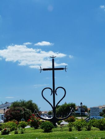 The cross of Camargue in Saintes Maries de la Mer, France Stock Photo