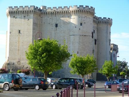 Castle of Tarascon in Provence, France Stock Photo - 17091311