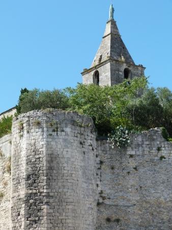arles: The city walls of Arles, Provence, France