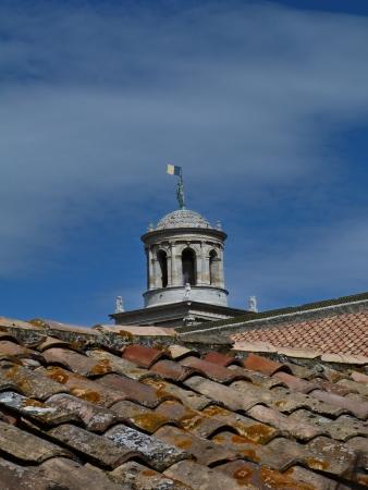 arles: Roof of the church of Saint Trophime, Arles, France