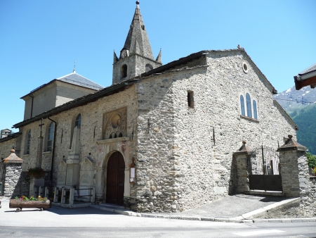 Church of Aussois, French Savoy photo
