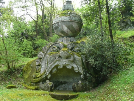Park of the Monsters in Bomarzo, Italy