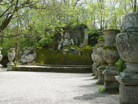 Park of the Monsters in Bomarzo, Italy photo