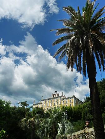 Park of Villa Garzoni, Collodi, Tuscany, Italy