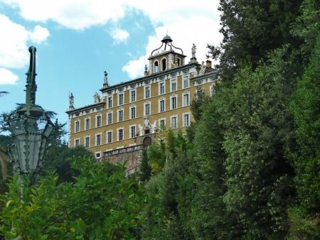 garzoni: Park of Villa Garzoni, Collodi, Tuscany, Italy Editorial