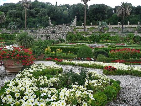 collodi: Italian garden in the park of Villa Garzoni, Collodi, Tuscany, Italy Editorial