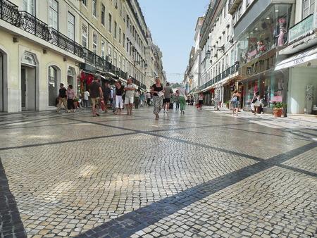 augusta: Rua Augusta, Lisbon, Portugal