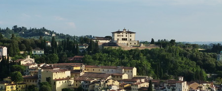 forte: Forte Belvedere an hill around Florence, Italy