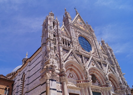 Siena Cathedral in Tuscany, Italy photo