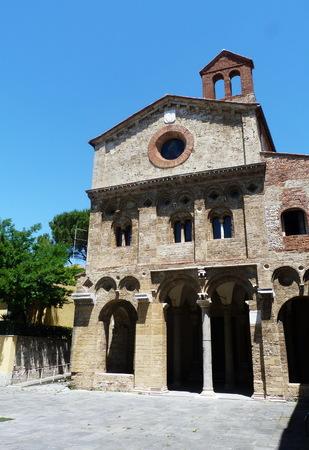 antiquary: San Zeno abbey, Pisa, Tuscany, Italy