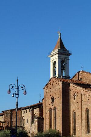 st francis: St. Francis church, Prato, Tuscany, Italy