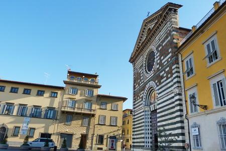 St. Francis square, Prato, Tuscany, Italy