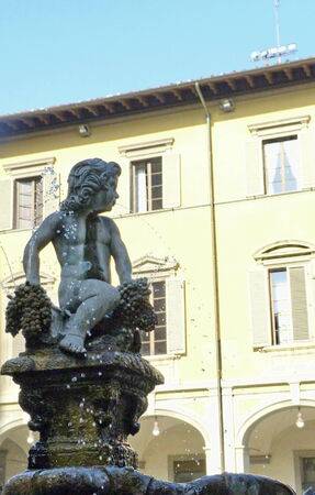 Fountain of Bacchino, Prato, Tuscany, Italy