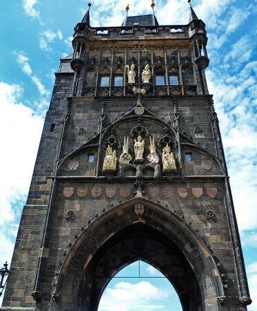 Powder Tower in Prague, Czech Republic