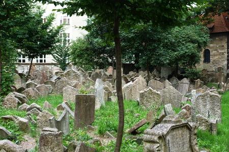 The Old Jewish cemetery, Prague, Czech Republic