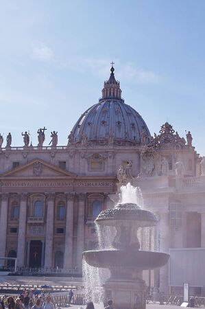 Saint Peter square, Vatican City, Rome, Italy