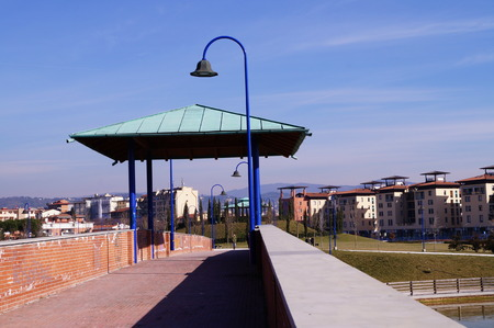 florence italy: San Donato park, Florence, Italy Editorial