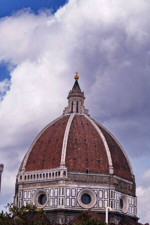 fiore: Dome of Santa Maria del Fiore cathedral, Florence, Italy Stock Photo