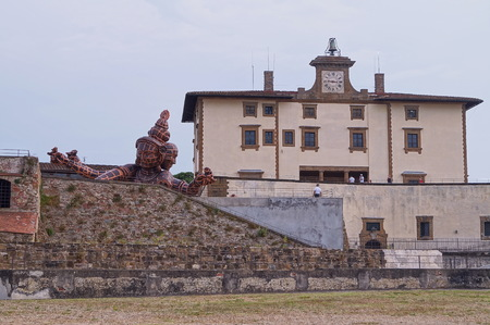 florence italy: Forte Belvedere Florence Italy