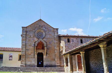 francesco: Monastery of San Francesco, Fiesole, Italy Stock Photo