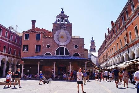 san giacomo: Church os San Giacomo di Rialto, Venice, Italy