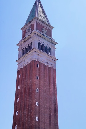 marco: Bel tower of San Marco, Venice, Italy