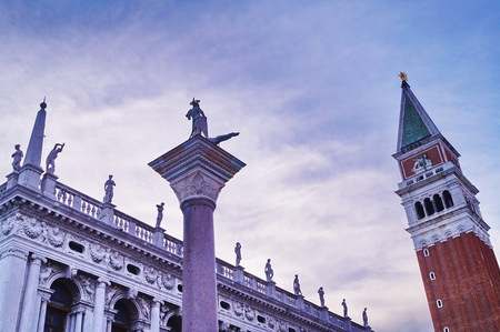 marco: Bell tower of San Marco, Venice, Italy