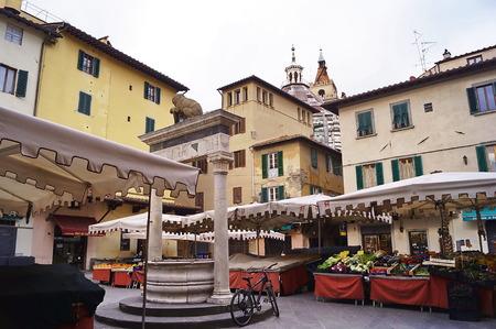 Sala square, Pistoia, Italy