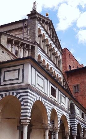 sain: Cathedral of Sain Zeno, Pistoia, Tuscany, Italy