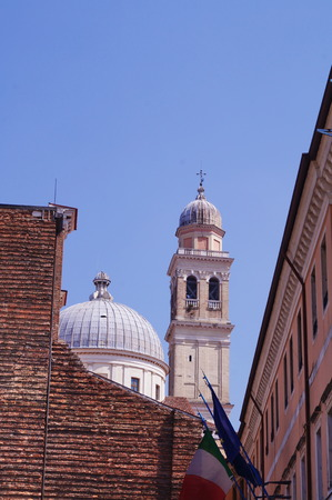 glimpse: Detail of Benedictine Abbey of Saint Giustina, Padua, Italy