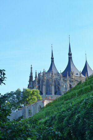 barbara: Saint Barbara church, Kutna Hora, Czech Republic