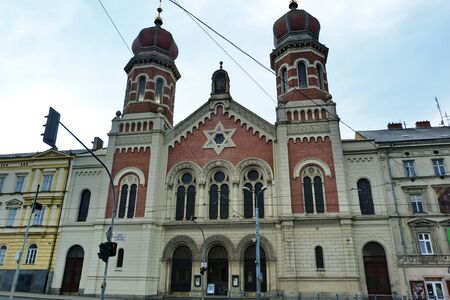 synagogue: Great Synagogue in Pilsen, Czech Republic Stock Photo