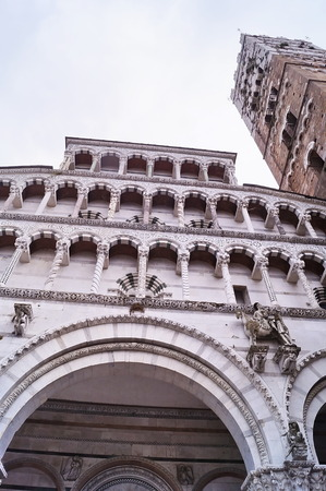 lucca: Cathedral of Lucca, Tuscany, Italy