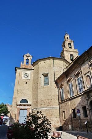 recanati: Cathedral of Recanati, Marche, Italy