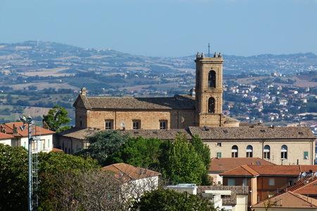 recanati: View of Recanati, Marche, Italy Stock Photo